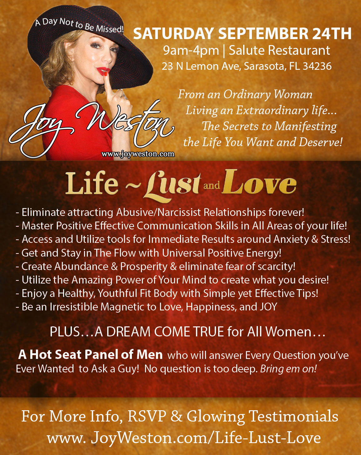 love lust and love workshop